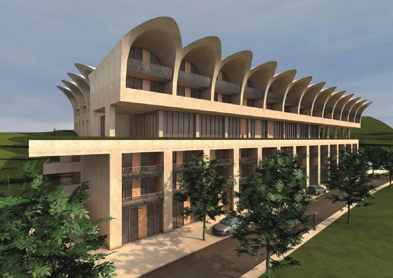 Luxemburgse luxeappartementen afgewerkt met zinc plus dakbekleding van Vmzinc