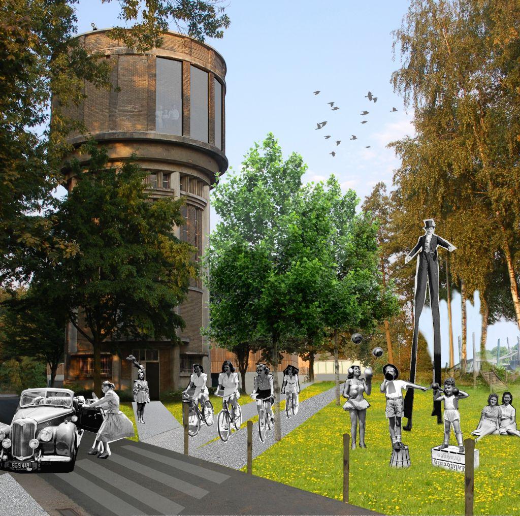 Iconische watertoren van Bree krijgt nieuwe bestemming