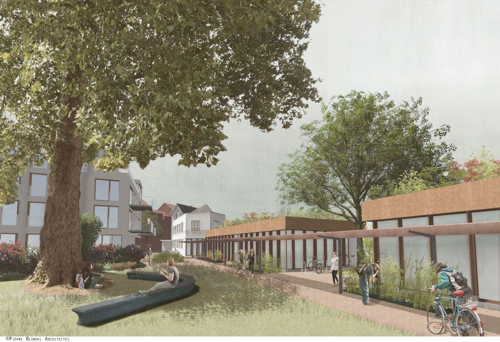 Marché attribué au bureau Pierre Blondel Architectes pour le projet Vandenschrieck à Jette