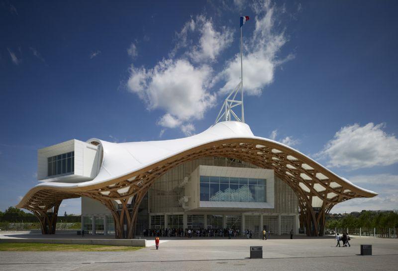 Het Centre Pompidou-Metz, gebouwd in 2010.