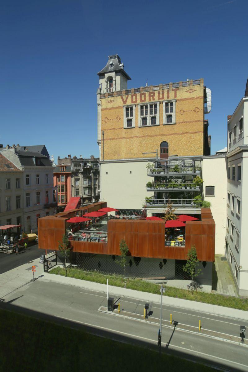 Masterplan Kunstencentrum Vooruit van Dial Architects volledig gerealiseerd