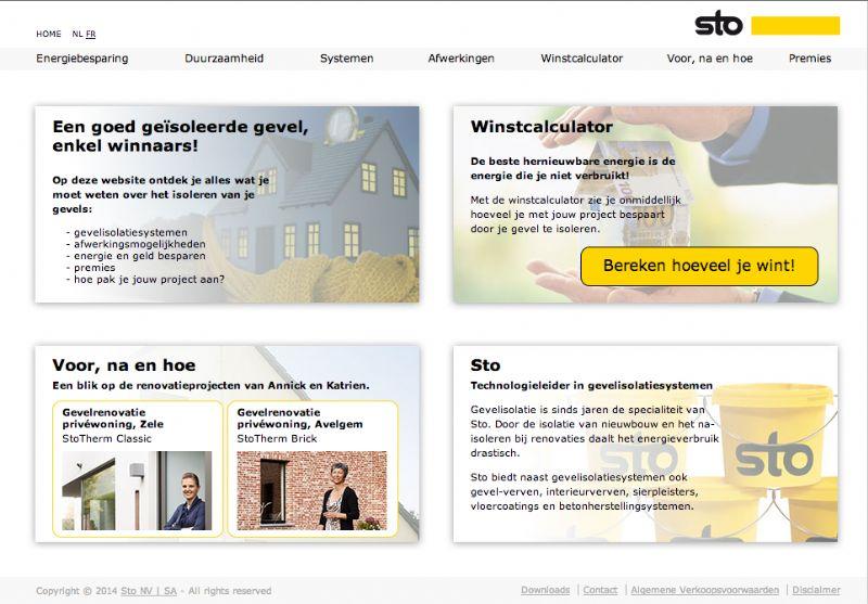 Sto lanceert een nieuwe website over isoleren voor zowel particulieren als architecten.