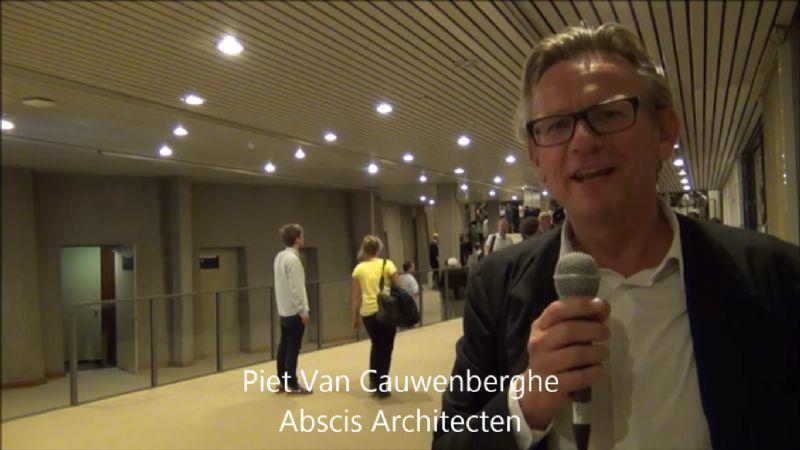 Bouwmeesterdebat: Piet Van Cauwenberghe namens NAV en BVA