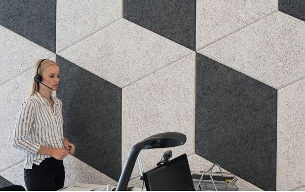 Isolco stelt Troldtekt Rhombe en Wave voor