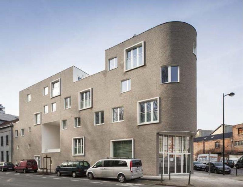 Brussels woonproject 'de Helihaven' balanceert tussen verschillende bouwsferen