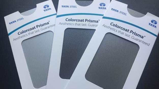 Tata Steel introduceert nieuwe kleuren voor haar Colorcoat Prisma®- Programma