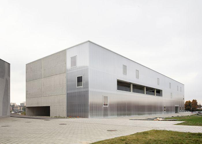 """Prix transversal """"Jeune architecte"""" : Laure Bertrand (LRArchitectes) pour le Centre d'art et de design de la céramique - Boch à La Louvière"""