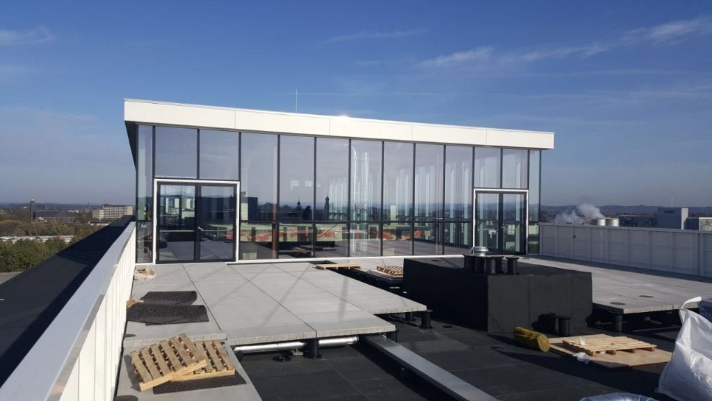 Spectaculaire skybar op The Student Hotel Maastricht