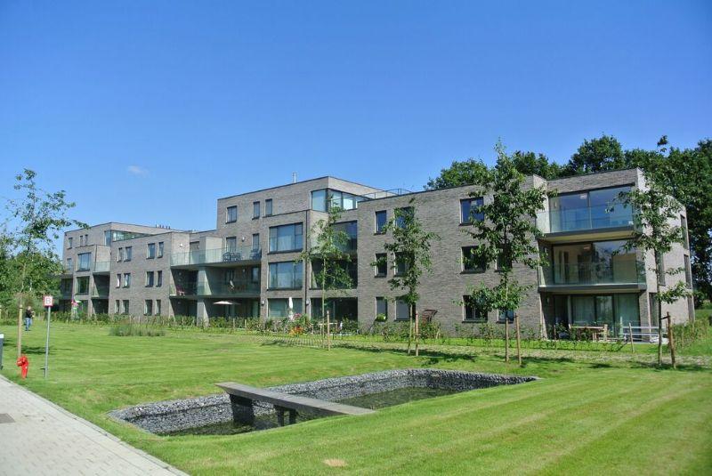 De appartementen variëren qua grootte van 1 tot 3 slaapkamers.