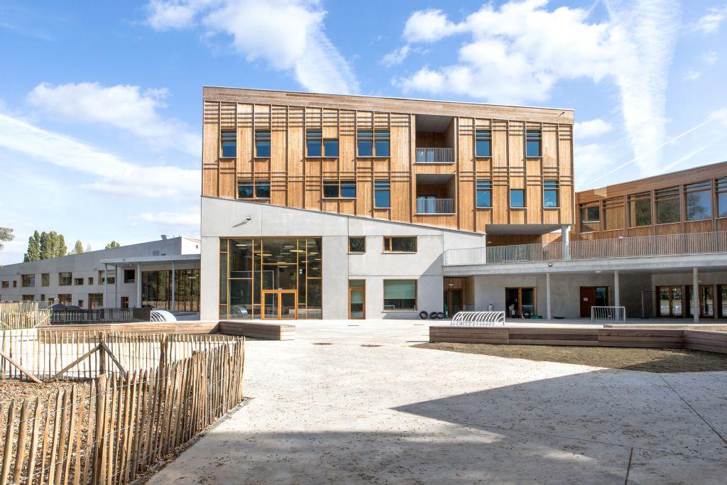 Passieve school voor actieve pedagogie in Neder-Over-Heembeek
