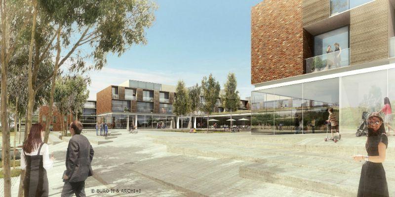 BURO II & ARCHI+I ontwerpt Leanderhof in Zwevegem