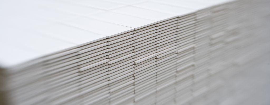 Aandeel gerecycled materiaal in Mosa-wandtegels stijgt tot 33%