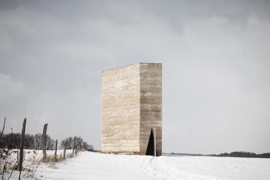 Bruder Klaus Kapelle by Peter Zumthor