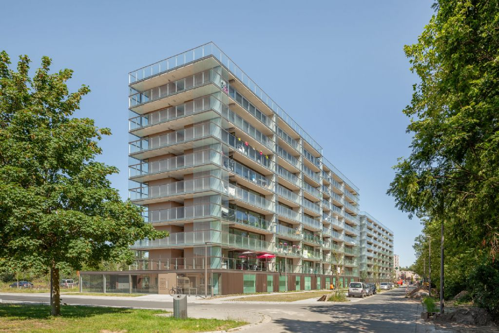 Transformatie appartementsgebouwen Rozemaaiwijk door Atelier Kempe Thill en RE-ST voltooid