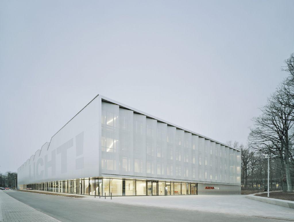 Des matériaux de façade conférant à la fois calme et puissance