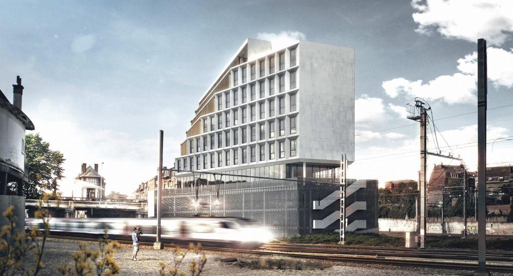 Centre administratif wallon de Belfius, à Namur