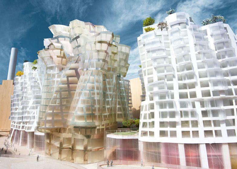 Frank Gehry et Norman Foster réaffectent une ancienne centrale au charbon de Londres