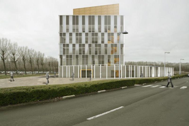 Simulatieondersteunende ontwerpoptimalisatie van een Geotabs-kantoorgebouw