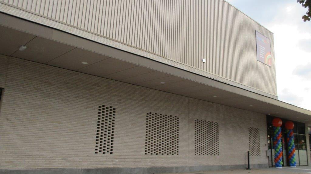 Het Sportoase-complex in Wilsele-Putkapel werd eind juni opgeleverd en is op 9 september in gebruik genomen.