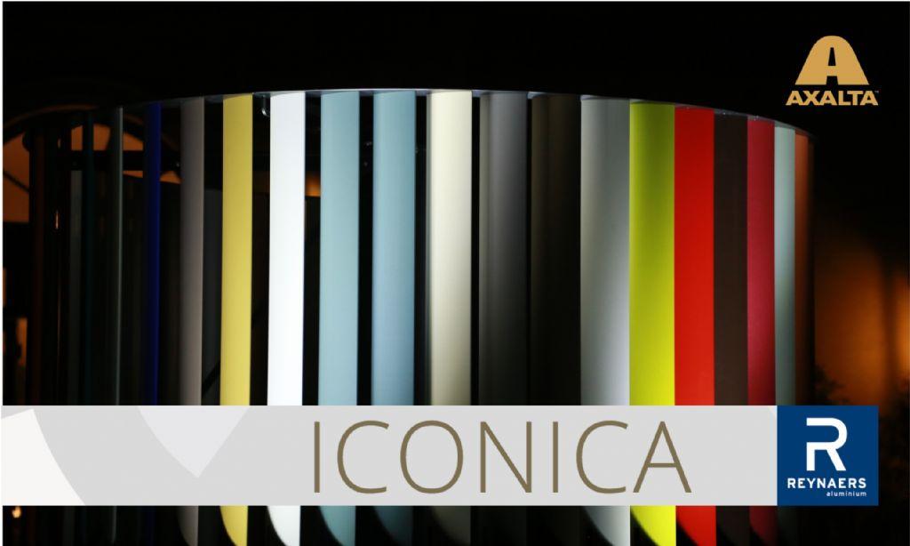 Axalta et Reynaers Aluminium présentent la collection ICONICA