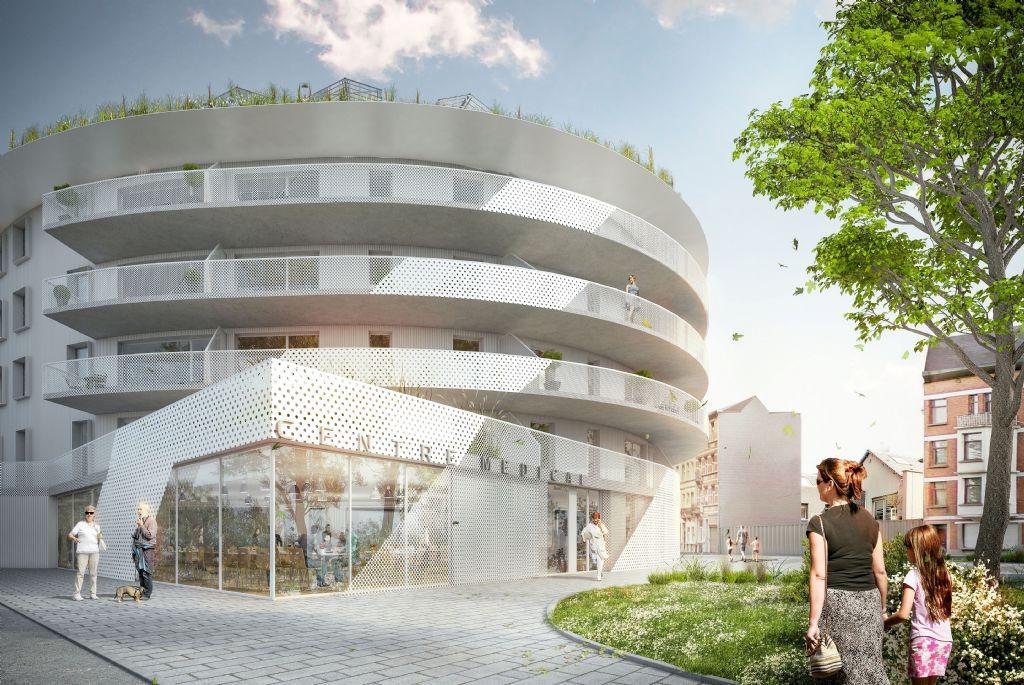 Projet Goujons, dernier phase du programme CityGate I à Anderlecht
