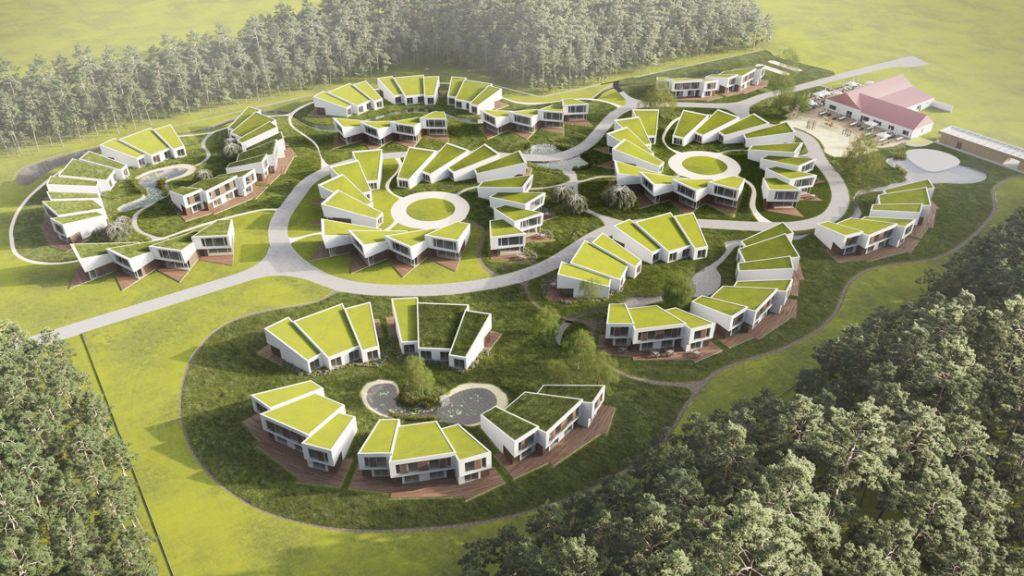 Nieuw Roompot park in Hechtel-Eksel van Arché Ligno wordt het meest duurzame park van het land