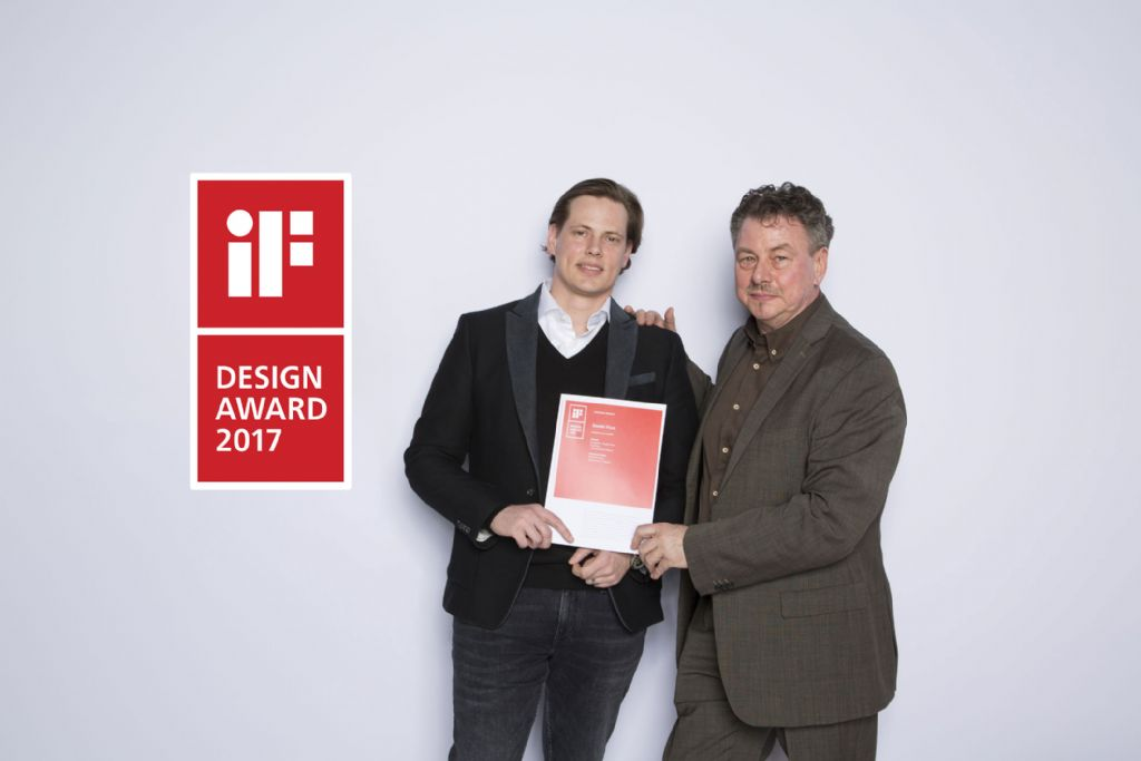 iF DESIGN AWARD 2017 pour le « Room Divider » d'ANYWAYdoors