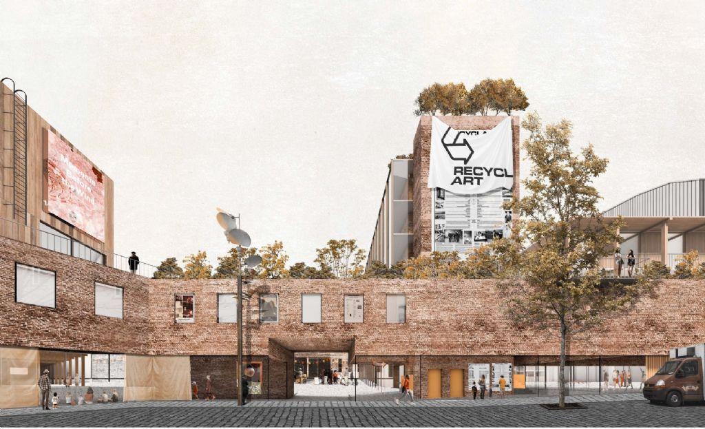 BC architects et Civic architects choisis pour le nouveau pôle artistique Manchester à Molenbeek
