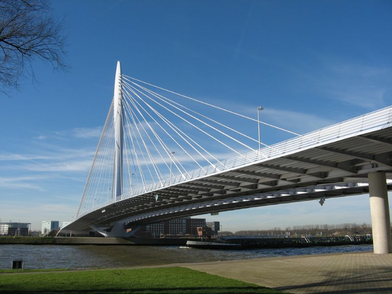 De Prins Clausbrug in Utrecht.