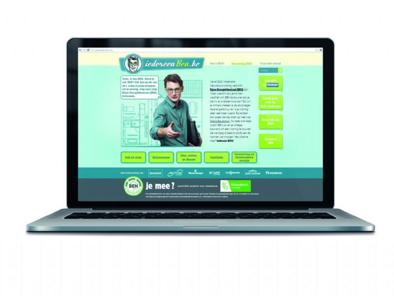 Op de website kunnen geïnteresseerden terecht voor alle informatie over Bijna-EnergieNeutraal bouwen.