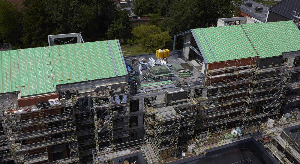 A Lokeren, 120 appartements optent résolument pour le vert