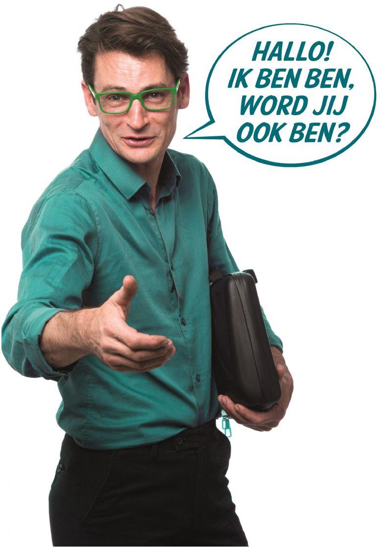 Op de website loodst coach Ben bezoekers doorheen de verschillende stappen om hun woning BEN te maken.