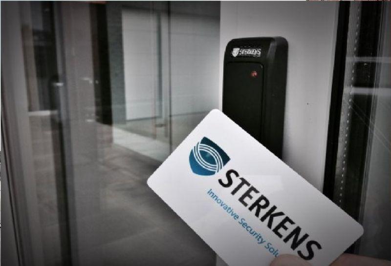 Sterkens Security integreert camerabeelden met het toegangscontrolesysteem.