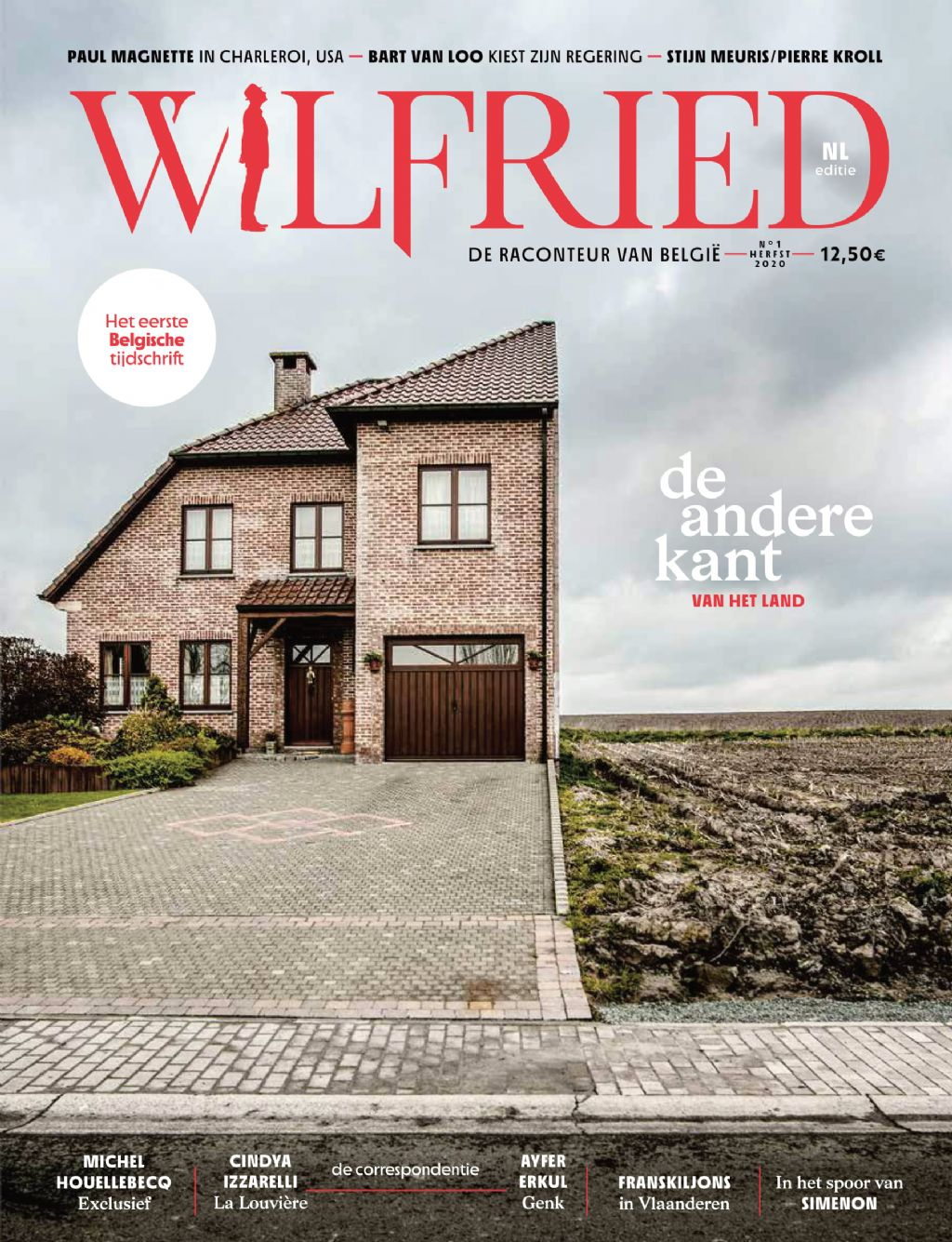 Cover magazine 'Wilfried'