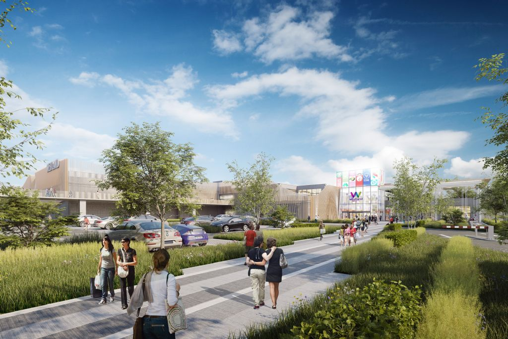 Westland Shopping Center in Anderlecht neemt een nieuwe start