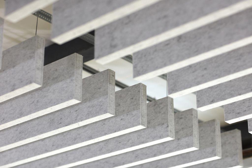 Hunter Douglas Architectural lanceert HeartFelt® Baffle-plafonds