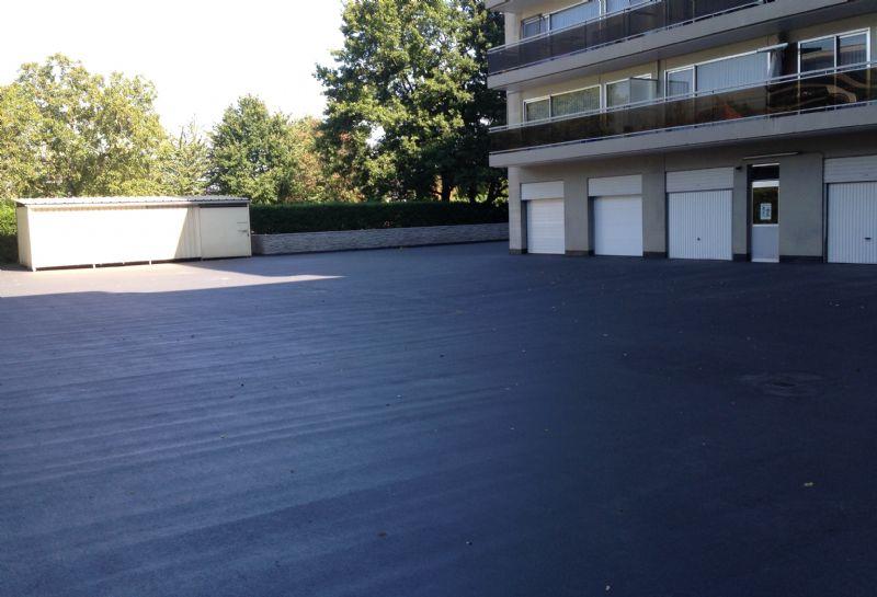 De vernieuwde parking van Residentie Hazelaar in Hasselt.