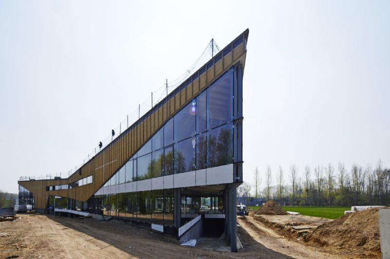 Mathieu Gijbels et a-tract architecture réalisent un immeuble de bureaux selon le principe BIM