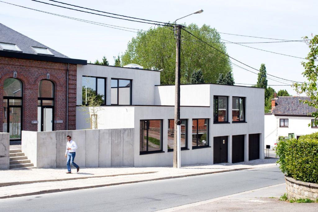 Les bureaux de Goffart-Polomé Architectes à Wanfercée-Baulet