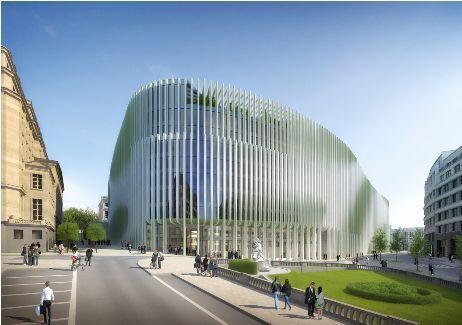 Hoofdzetel BNP Parisbas Fortis, Brussel