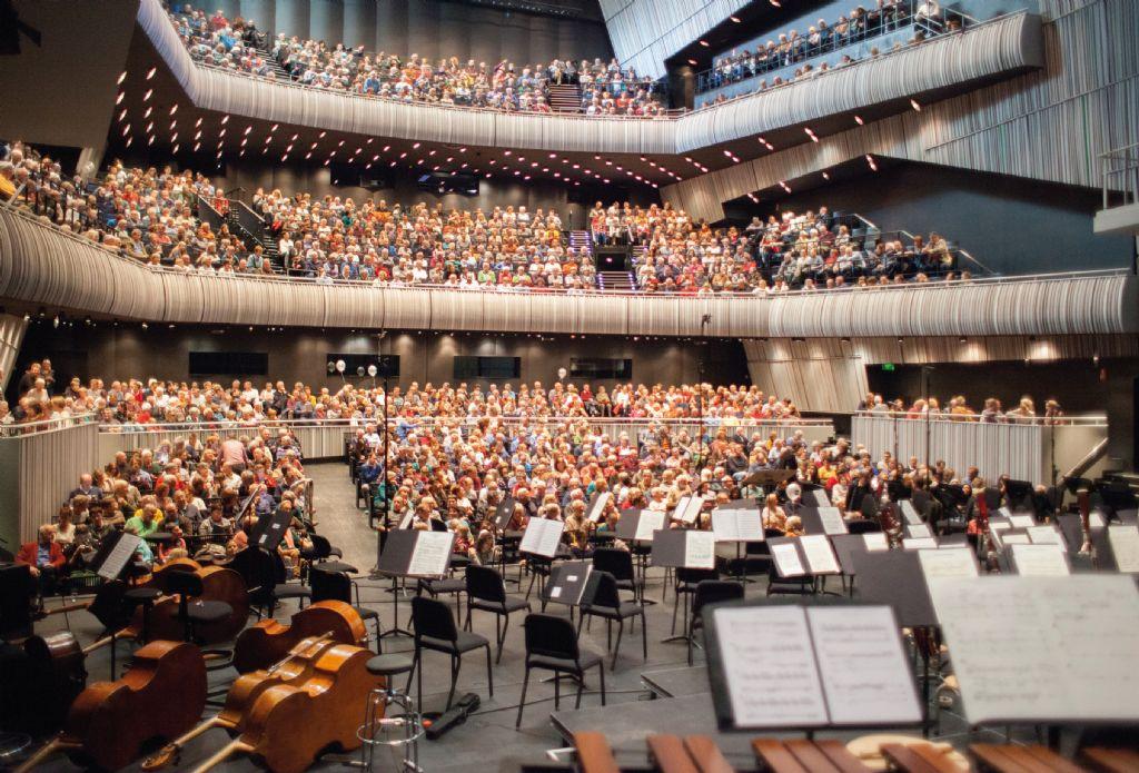 Nieuwe HVAC-sturing optimaliseert comfort in Brugs concertgebouw
