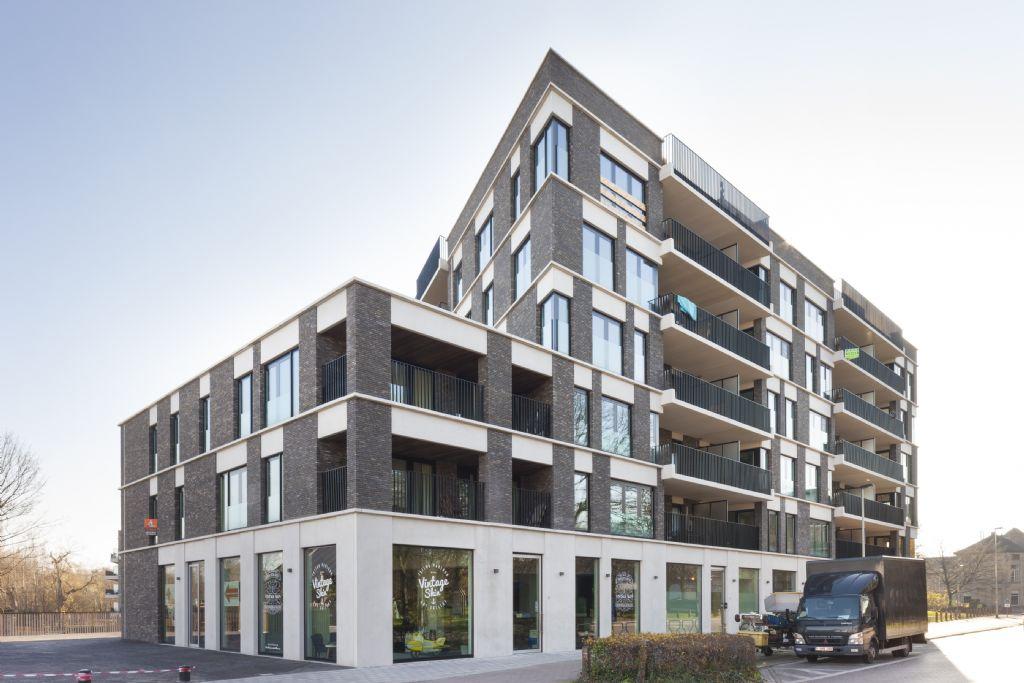 'Oude Gasfabriek' à Lierre : architecture cohérente avec quelques nuances