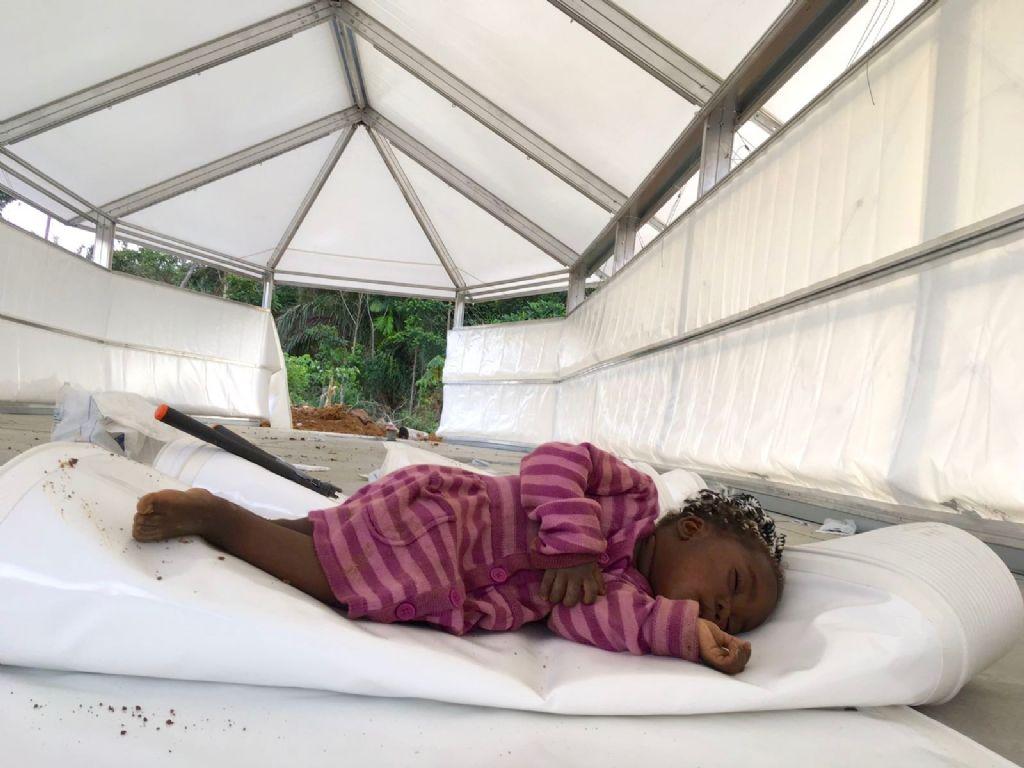 Vorig jaar leverde DMOA architecten in Kameroen een internaat voor 64 kinderen op.