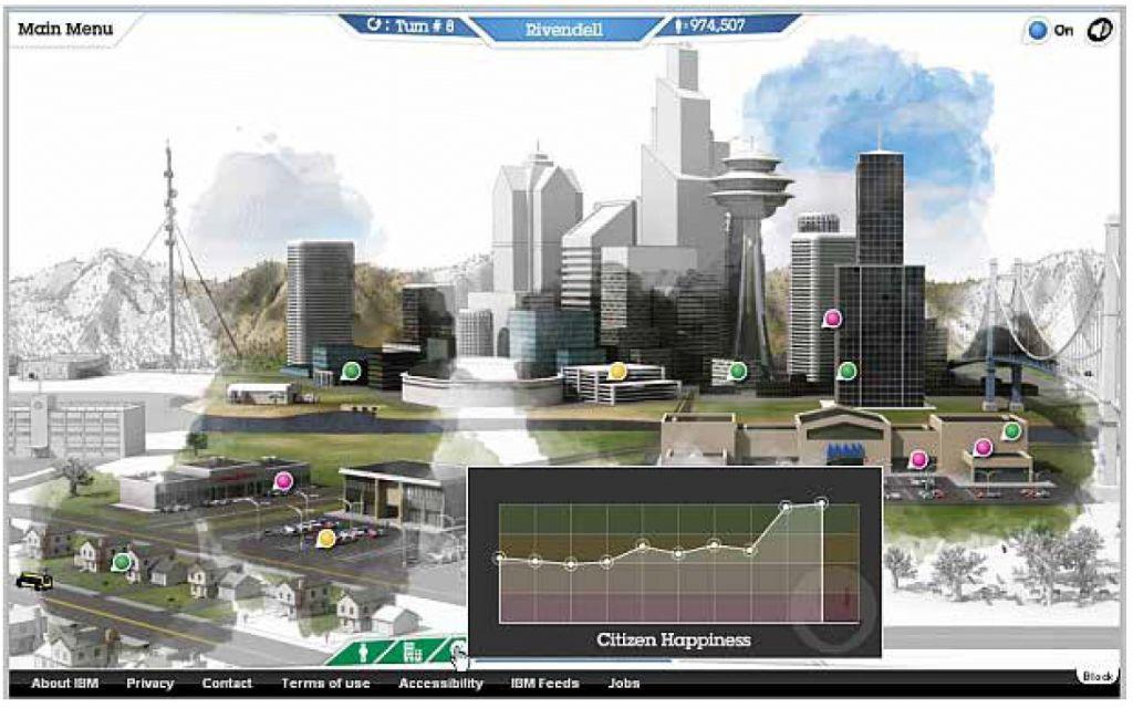 Le jeu City One permet de modéliser une ville et de tenter d'en appréhender les enjeux de gestion.