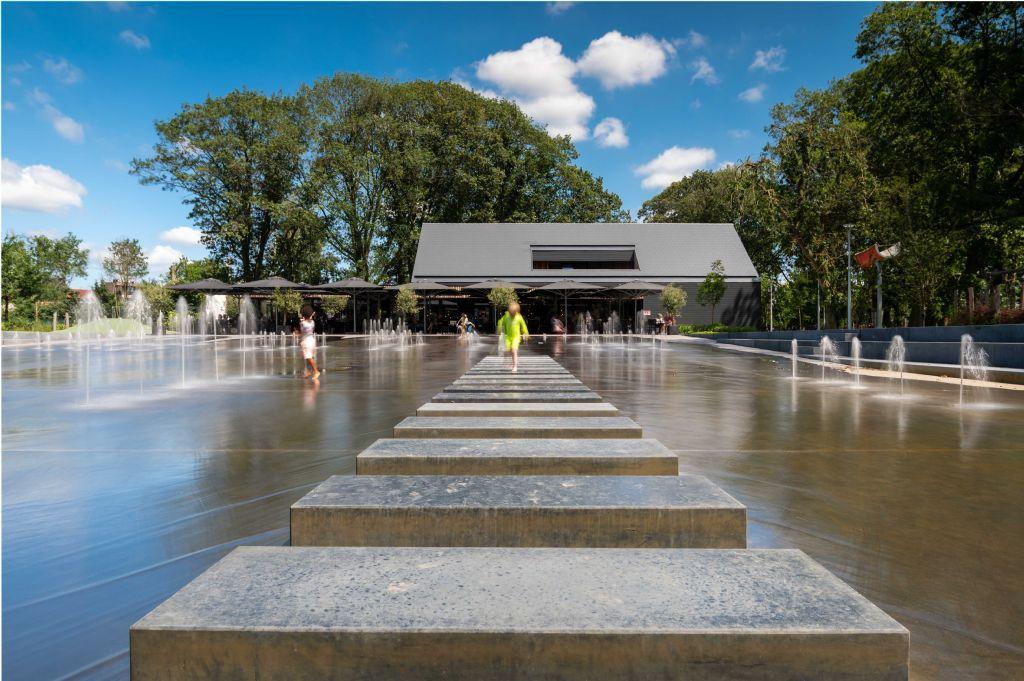 Park Zomerhuis van OMGEVING en Atelier Ruimtelijk Advies geeft publieke ruimte terug aan Stekene