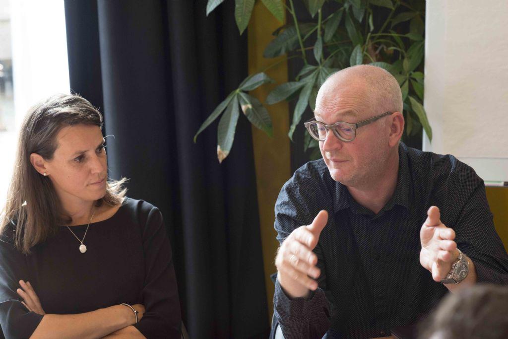 """Heidi Denoulet en Erik Vereecken (VK Architects & Engineers): """"Het uiteindelijke resultaat is ons inziens kwalitatieve architectuur met een sterke identiteit, gekoppeld aan een goed functioneel raamwerk."""""""