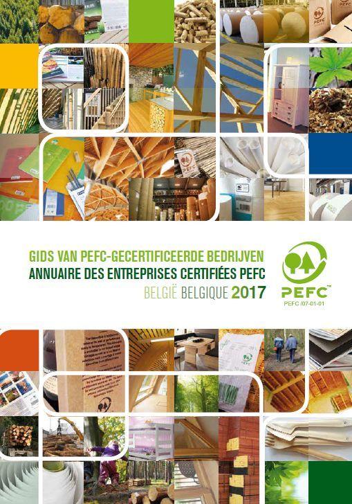 Nieuwe editie Gids van PEFC-gecertificeerde bedrijven