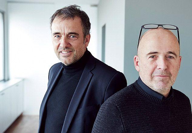 """Links Patrick Lootens van Poponcini & Lootens: """"Moet een Vlaams Bouwmeester optreden als een curator, of dient hij, zoals het NAV voorstelt, een bruggenbouwer te zijn?"""""""
