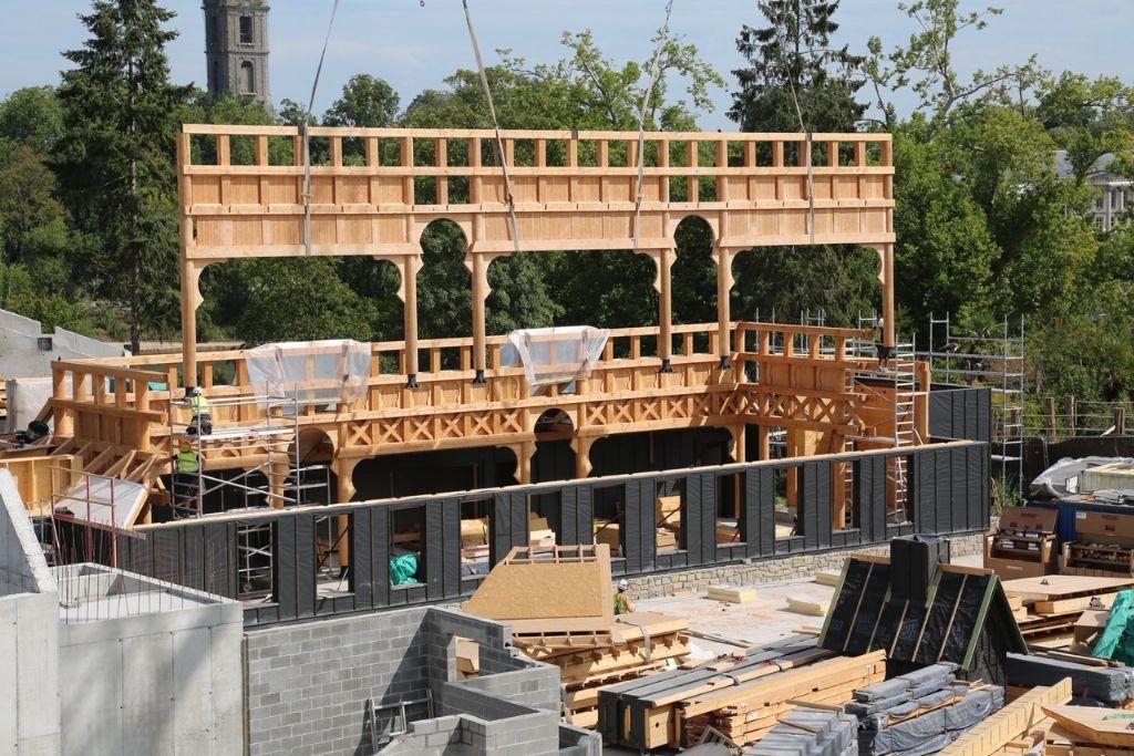La construction bois s'invite à Pairi Daiza
