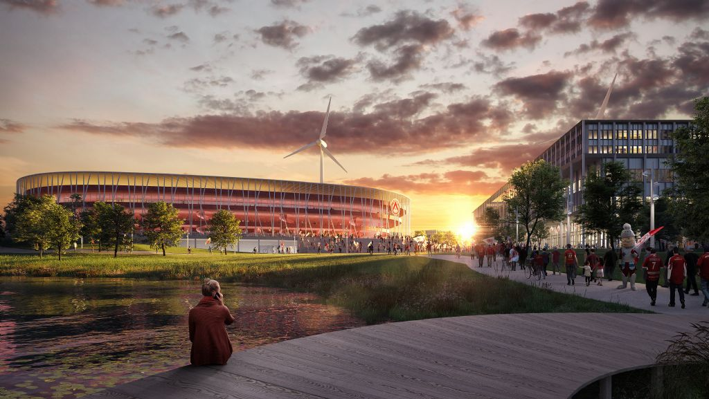 B-architecten en BRUT hebben masterplan klaar voor voetbalstadion in Kortrijk